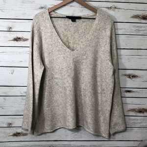 French Connection v-neck Sweater wool blend